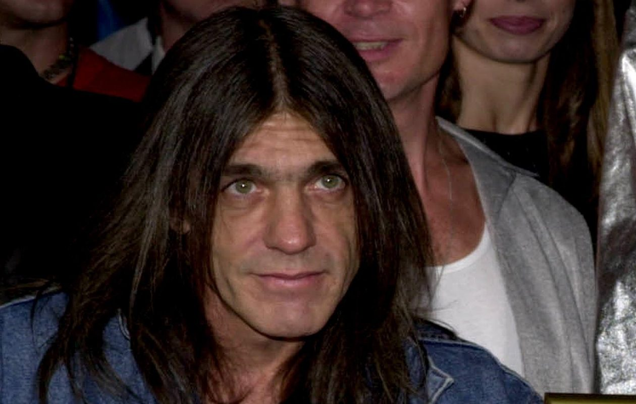 AC/DC co-founder Malcolm Young, pictured in 2000, has died. (Getty Images)