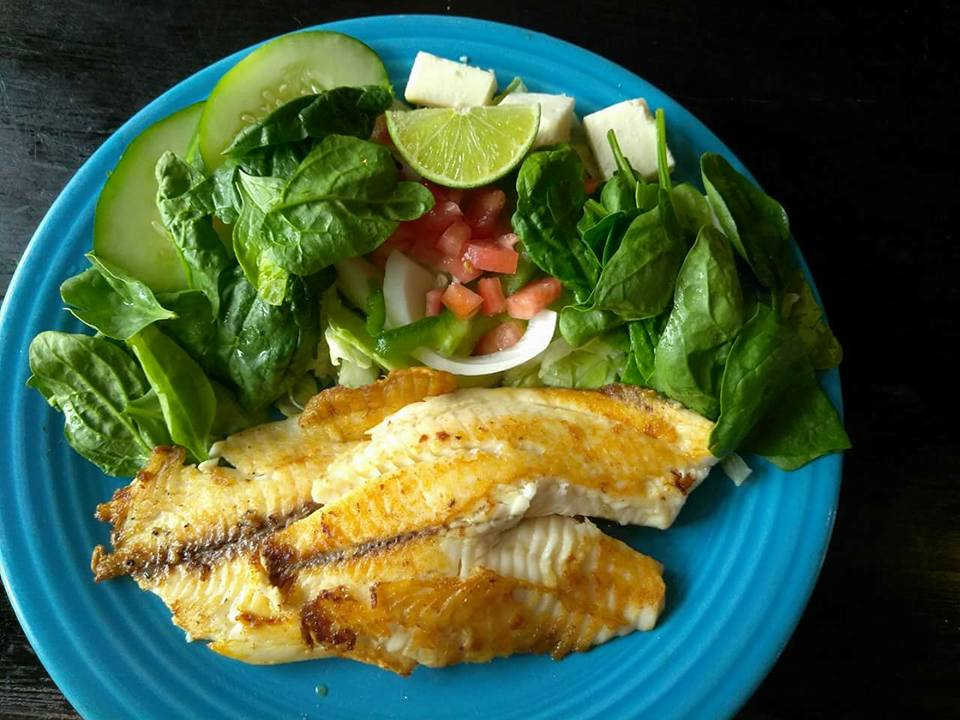 Plates at Senor Tequila include seared tilapia. (Senor Tequila)