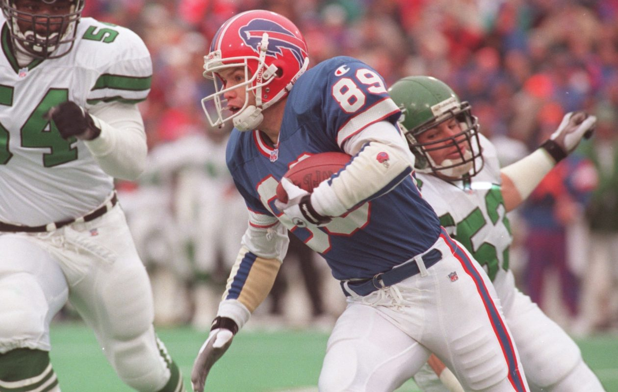 Steve Tasker had several game-changing plays in his years in Buffalo. (News file photo)