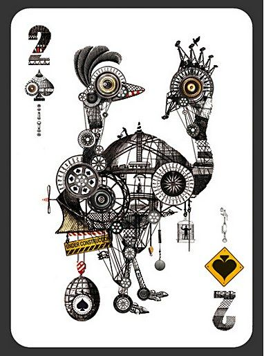 Two of Spades by Diego Mazzeo.