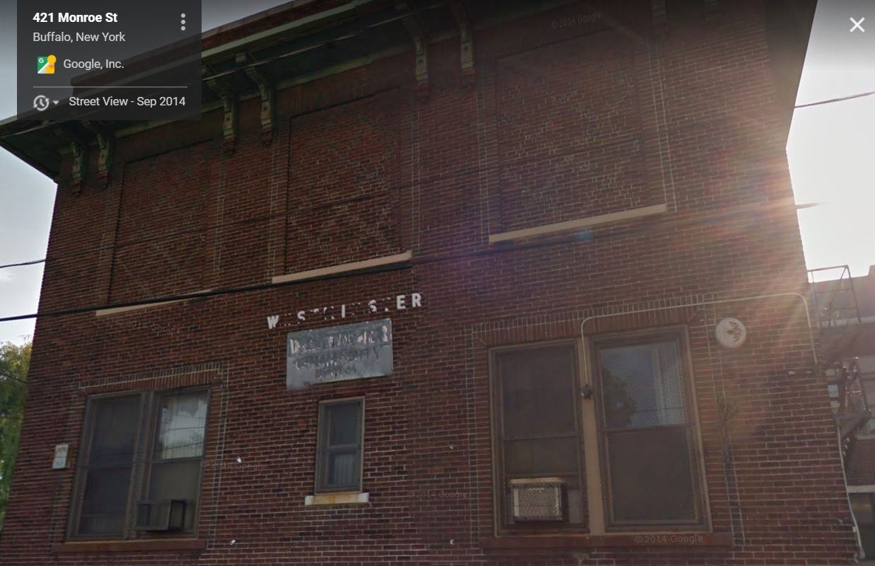 The $26 million project would reuse the Westminster Settlement House building at 419 Monroe St., above, while constructing a four-story apartment complex on Adams Street. (Google Maps)