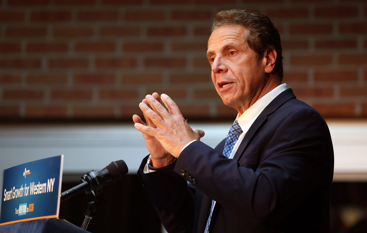 Gov. Cuomo said a recent trial involving a longtime friend does not show that the governor did anything improper. (Sharon Cantillon/News file photo)