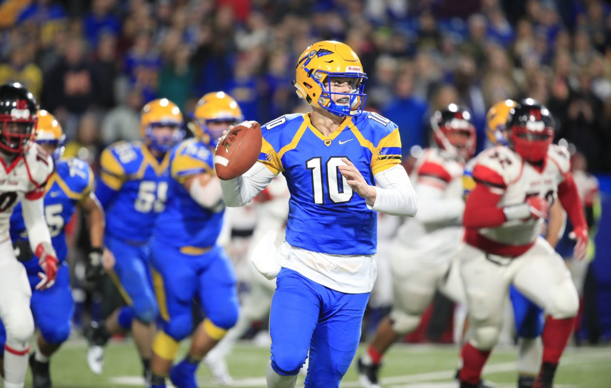West Seneca West senior Matt Myers is the 2017 Buffalo News football Player of the Year. (Harry Scull Jr./ Buffalo News)