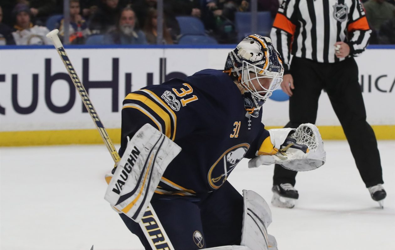 Chad Johnson's regular gear will stay in storage on Jan. 1. (James P. McCoy/Buffalo News)