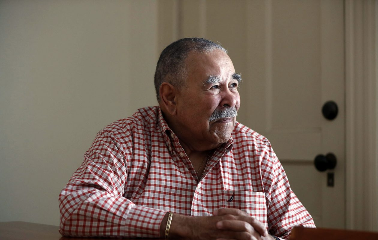 George Arthur: The former Common Council president reflects on generational changes in the way police approach city neighborhoods.    (Mark Mulville/Buffalo News)
