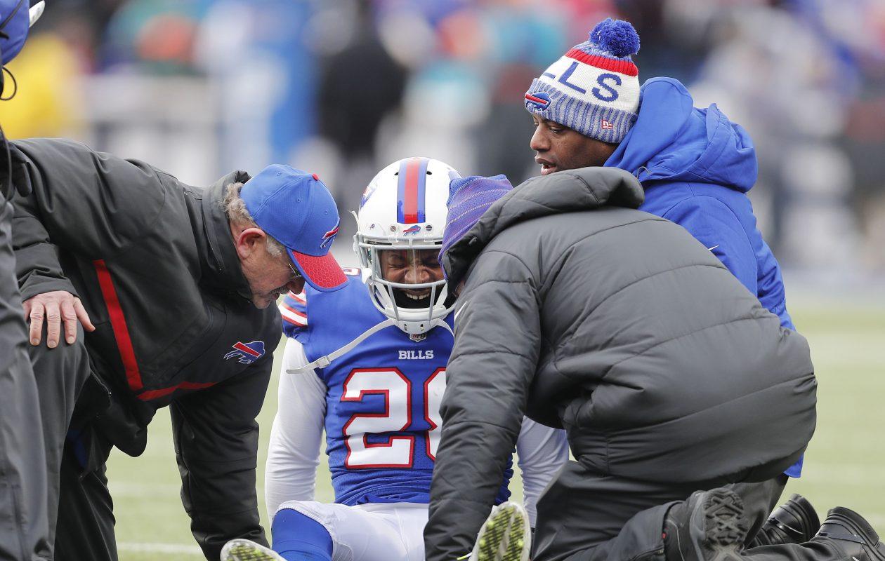 Bills cornerback E.J. Gaines had a strong first season in Buffalo. (Mark Mulville/Buffalo News)