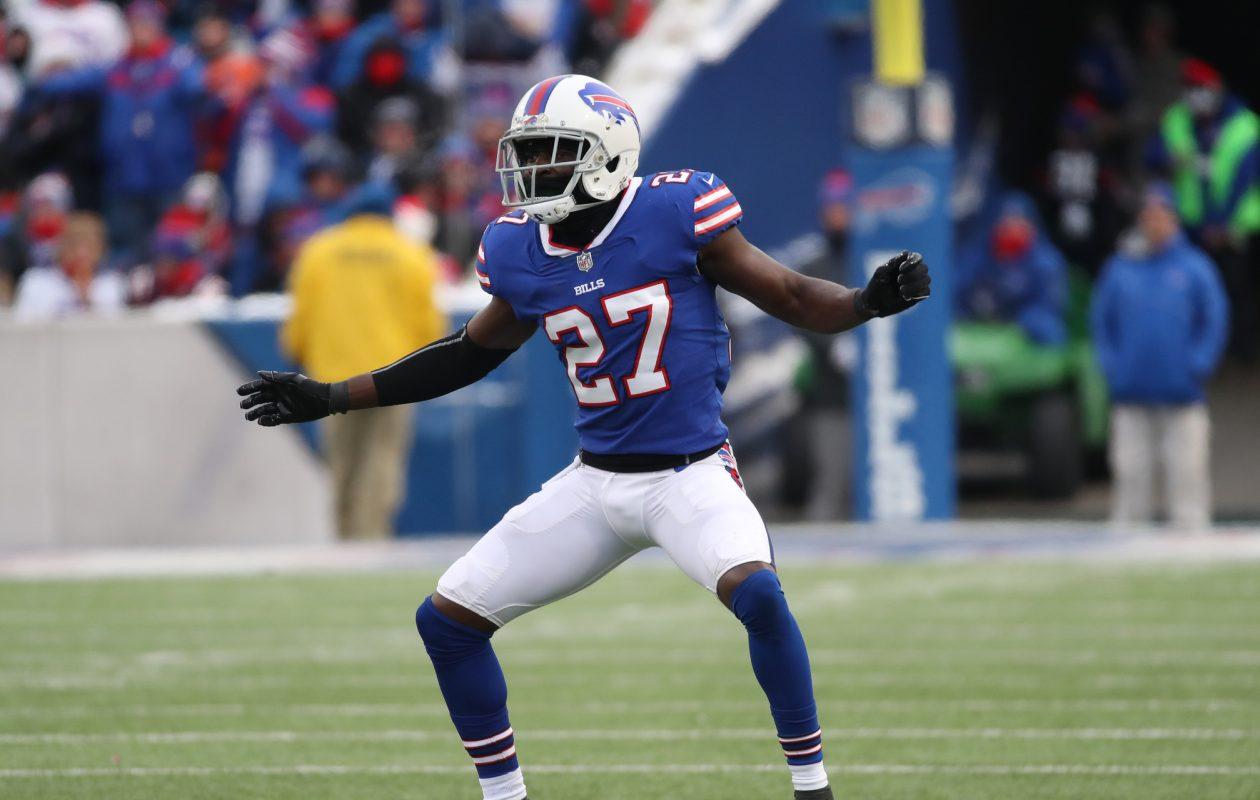 Buffalo Bills cornerback Tre'Davious White had plenty to celebrate Sunday against the Dolphins. (James P. McCoy/Buffalo News)