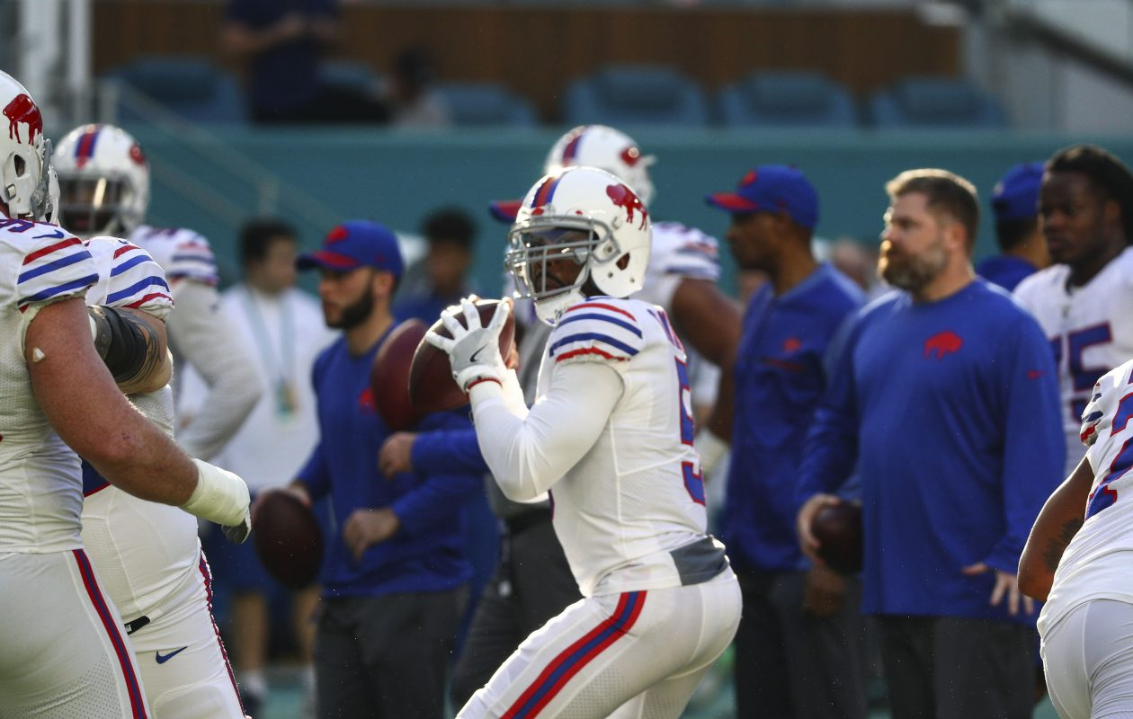 Bills quarterback Tyrod Taylor (James P. McCoy/Buffalo News)