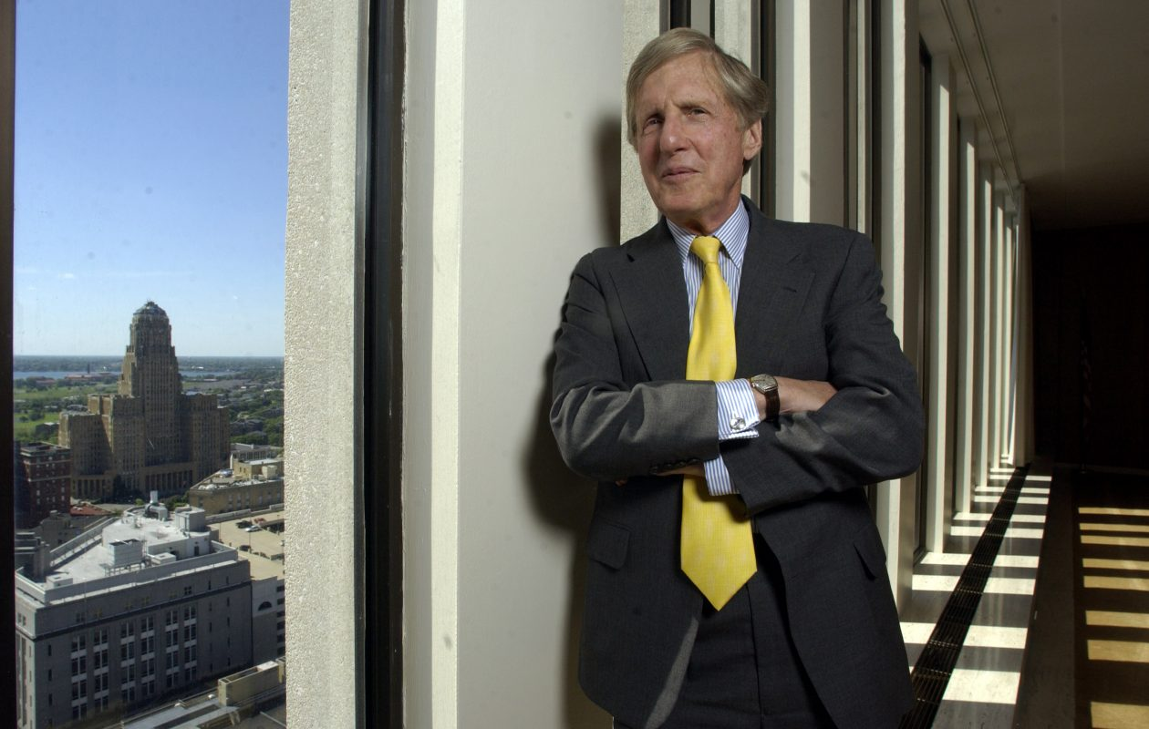 Bob Wilmers was one of the first to see the potential in the Buffalo Niagara region as a back office banking power. (News file photo)