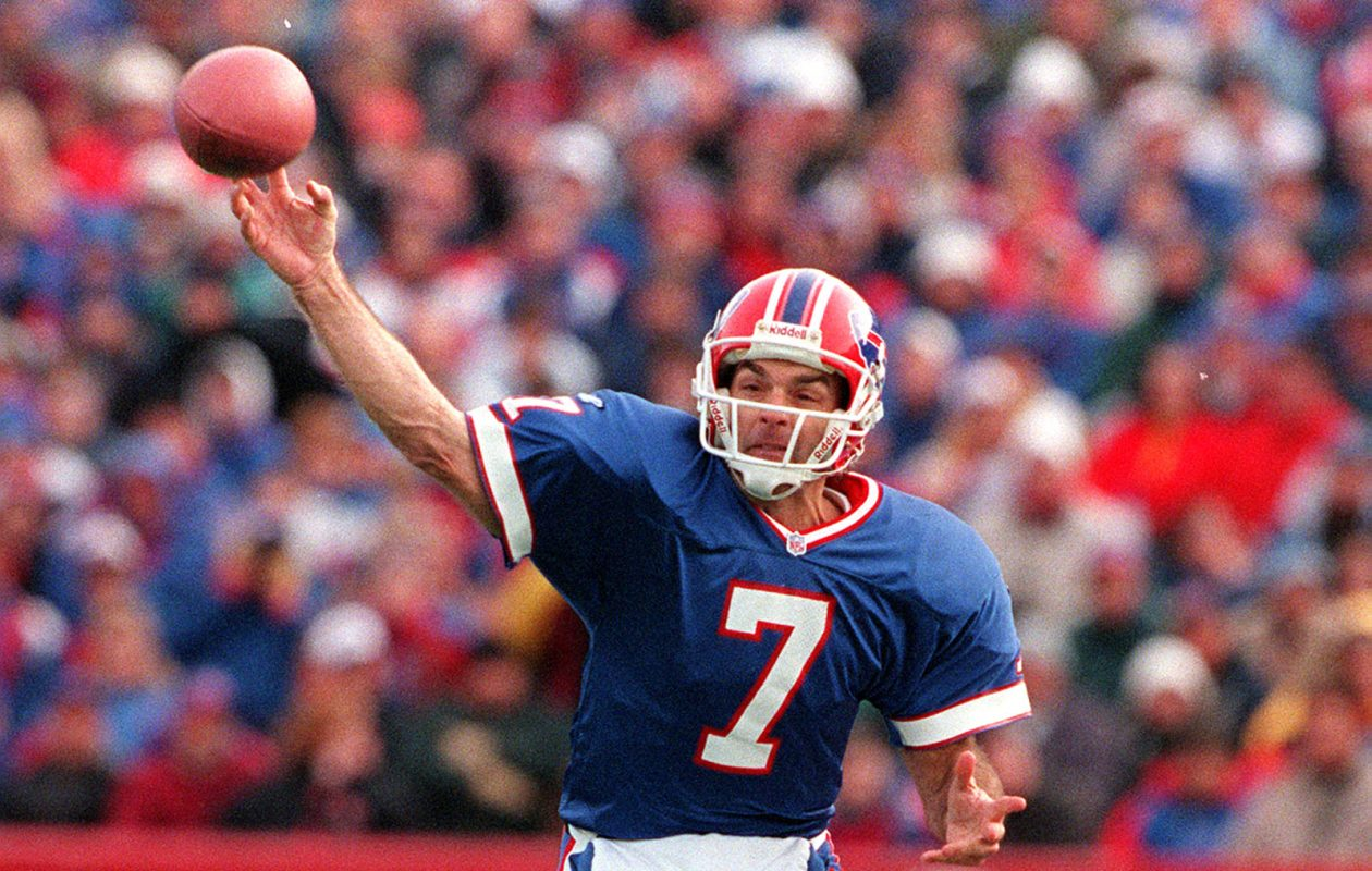Canadian Football Hall of Famer Doug Flutie boasts a 64.55 completion percentage and a 97.7 passer rating among quarterbacks with at least two starts — he had four — against the Indianapolis Colts. (James P. McCoy/News file photo)