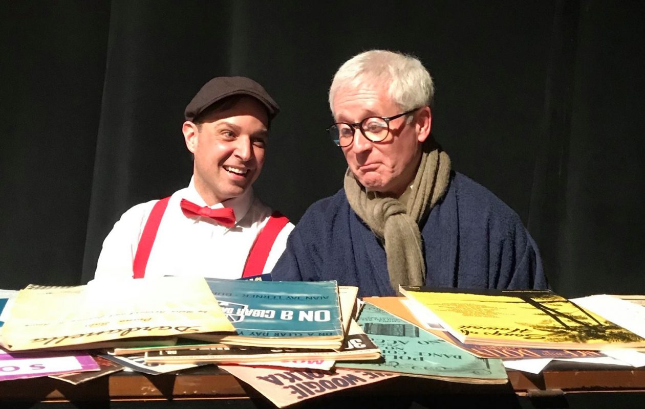 """Matthew Mooney, left, and Bill Group appear in O'Connell and Company's production of """"Irving Berlin's America."""""""