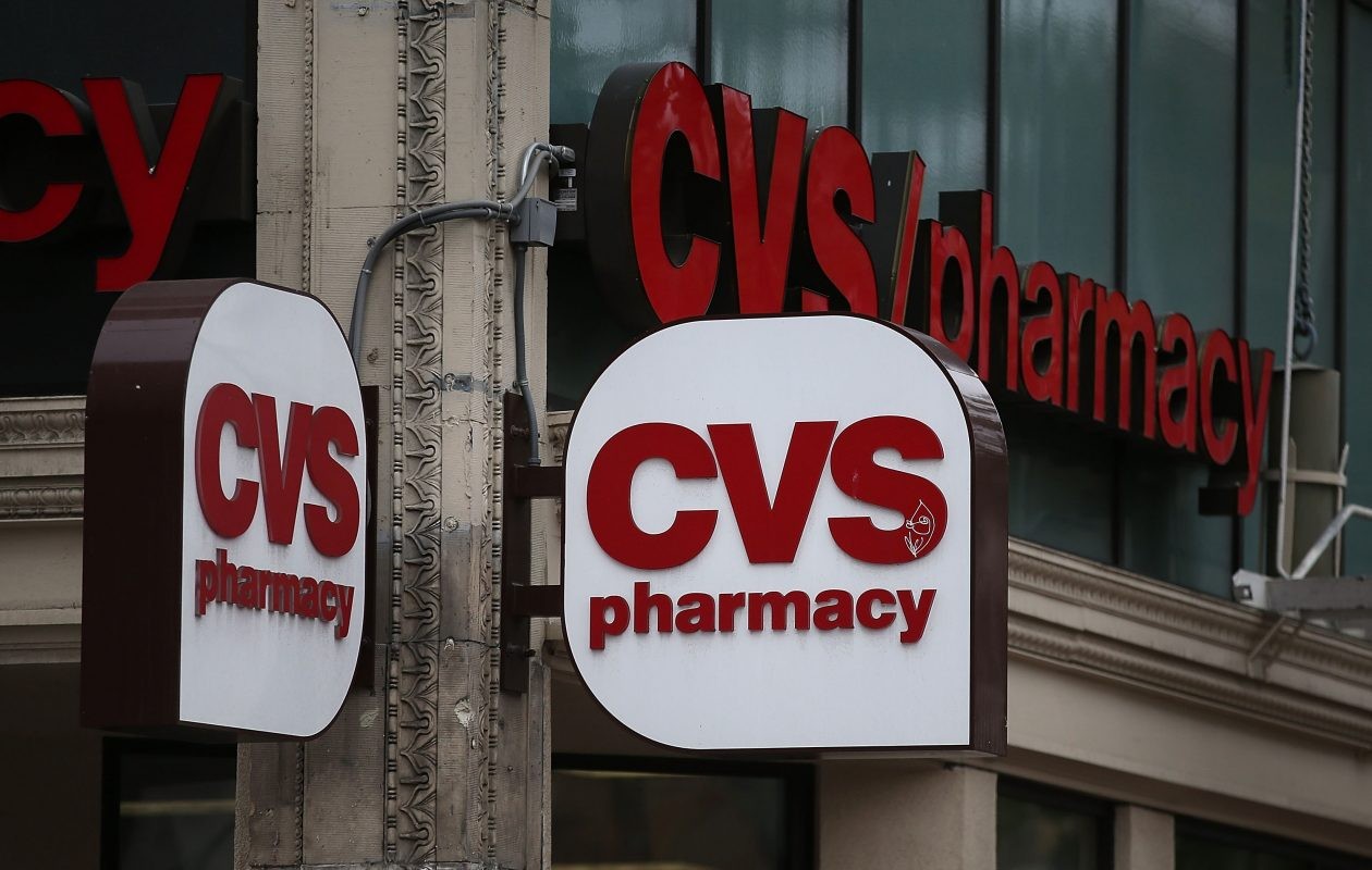 It was reported that pharmacy company CVS Health has agreed to buy Aetna in a $69 billion deal.   (Photo by Justin Sullivan/Getty Images)