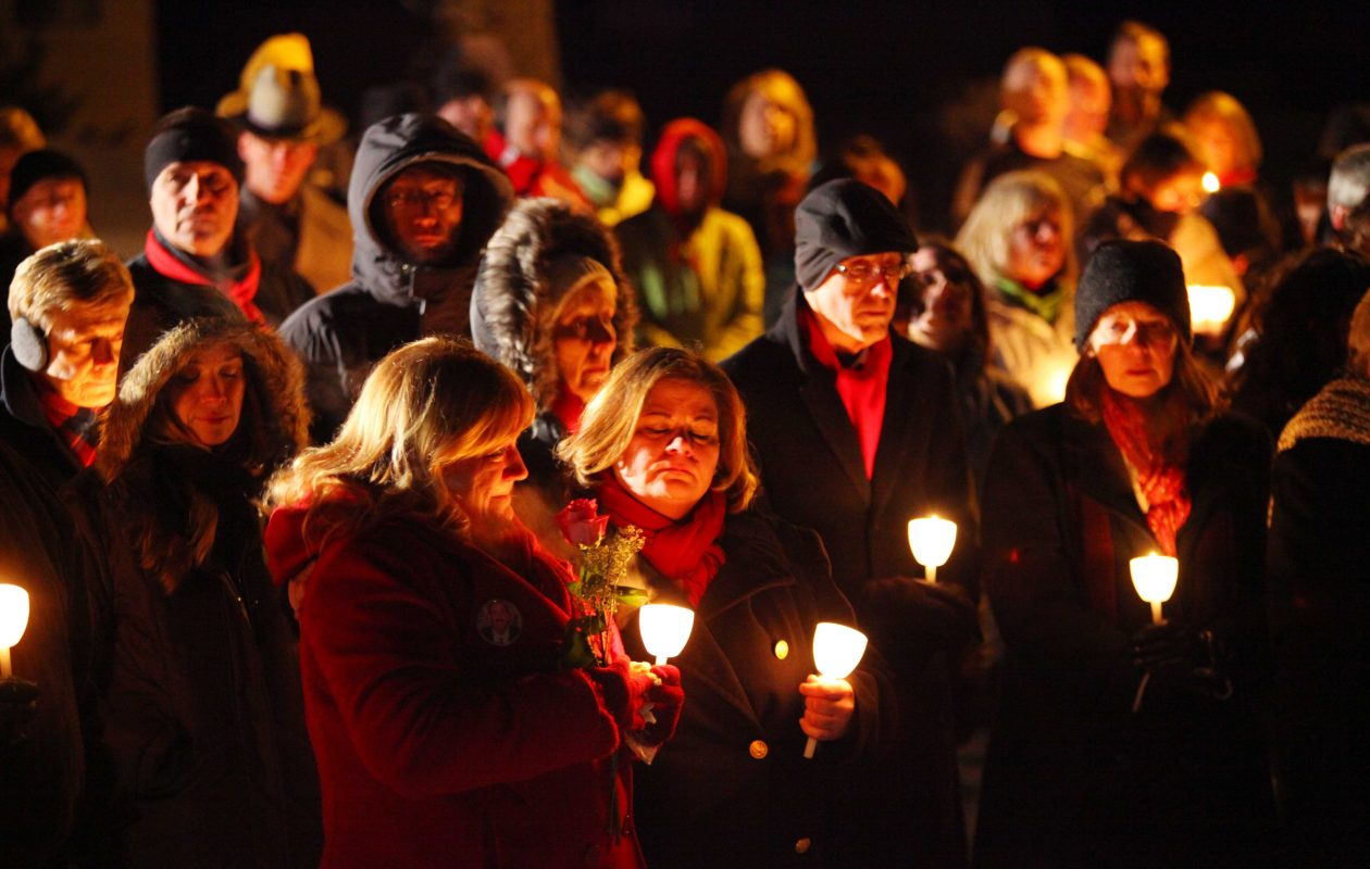 A  candlelight vigil in Clarence Center honored the 50 killed in the Feb. 12, 2009, 2009 crash of Flight 3407. (News file photo)