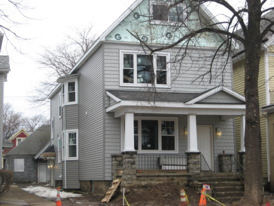 This house, at 928 Fillmore Ave. in Buffalo, was rehabilitated at a cost of $499,962. It then sold for $80,000. (News file photo)