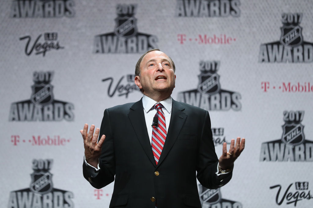 Gary Bettman has long been fascinated by Seattle as an expansion market (Getty Images).