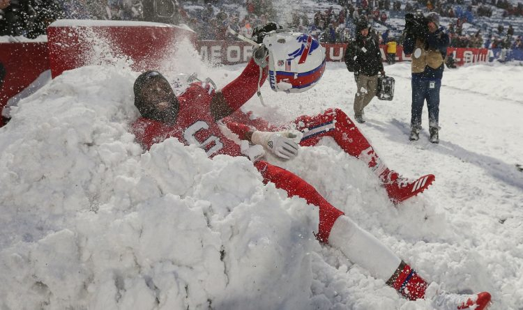 Bills-Colts snow game