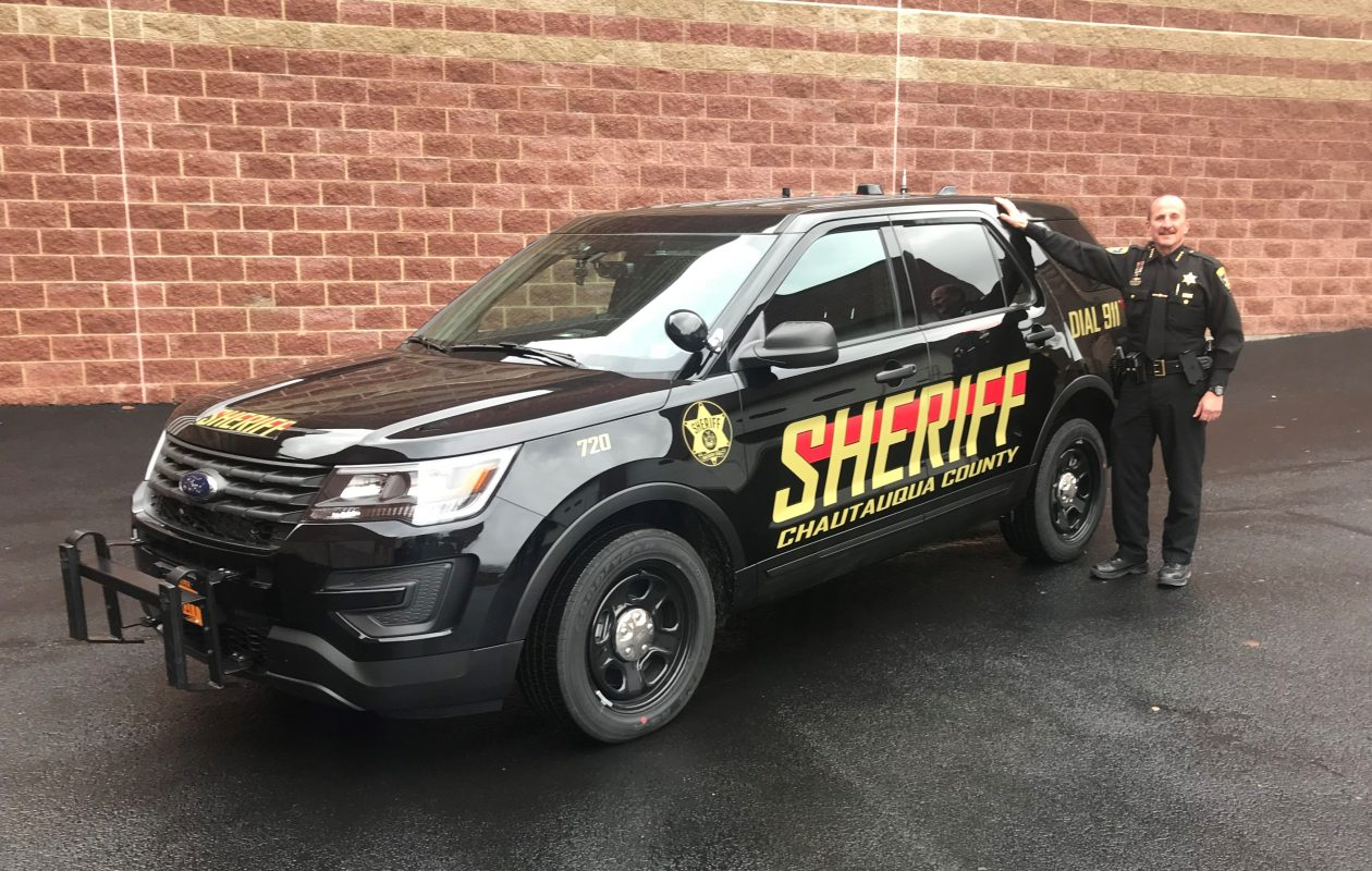 The Chautauqua County Sherifff's Office  will use SUVs instead of sedans as patrol cars, Sheriff Joseph Gerace announced Dec. 6, 2017. (Provided by the sheriff's office)