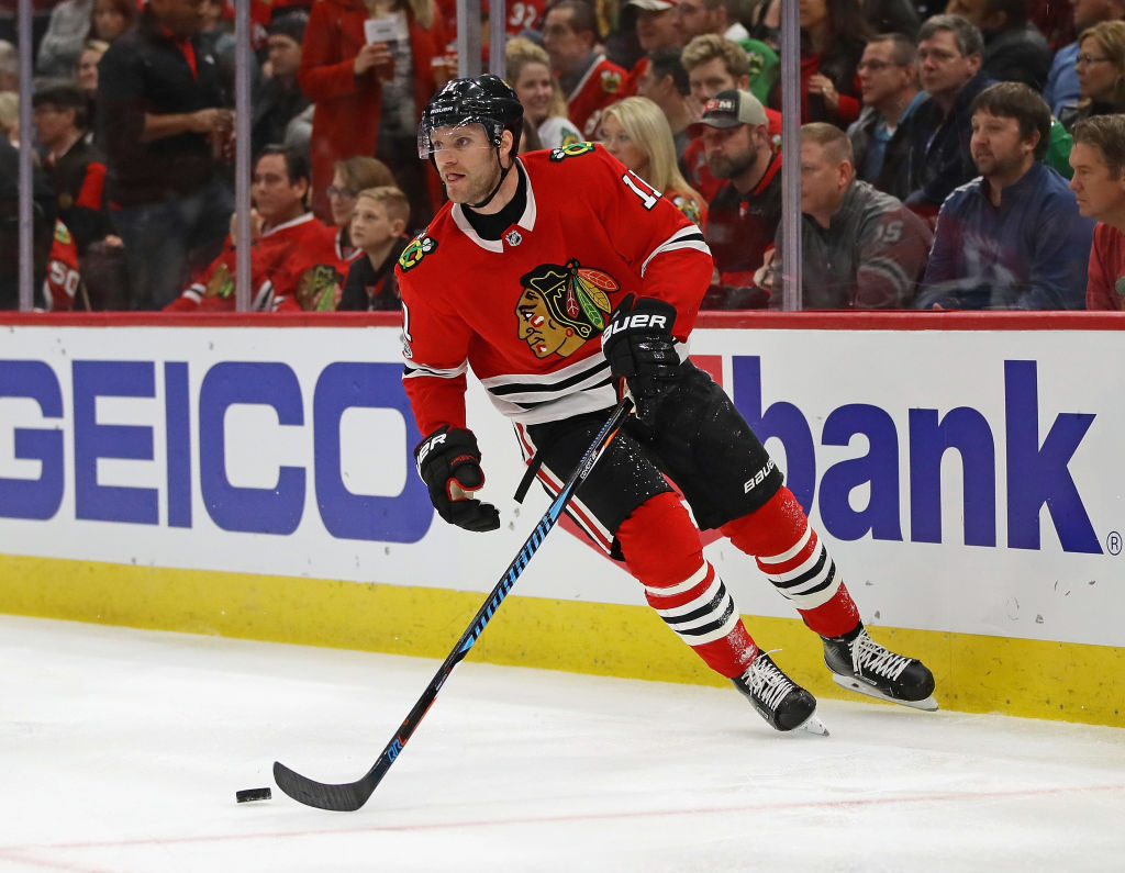 Former Sabres defenseman Cody Franson is averaging 17:37 a game on the blueline for the Blackhawks (Getty Images).