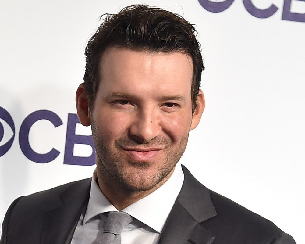Former Dallas Cowboy quarterback Tony Romo, now the No. 1 analyst on CBS broadcasts alongside play-by-play announcer Jim Nantz, illustrated early Sunday during the New England Patriots 37-16 victory over the Buffalo Bills why he has been named the rookie of the year and MVP in broadcasting in the same season. (Getty Images)