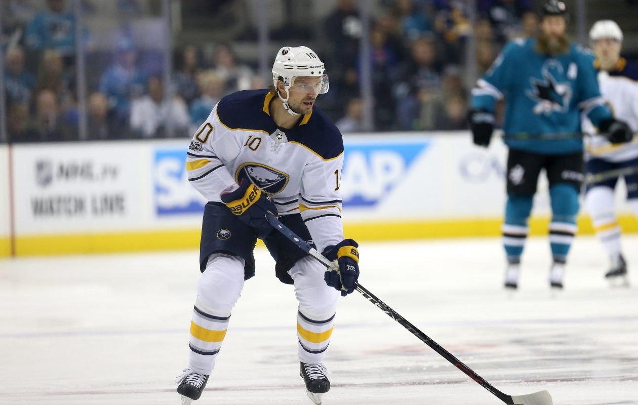 Sabres center Jacob Josefson was performing well before reinjuring his ankle. (Getty Images)
