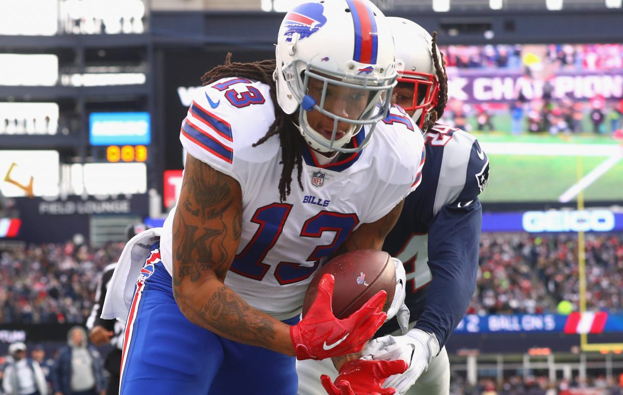 The Bills don't have much depth at wide receiver behind Kelvin Benjamin. (Getty Images)