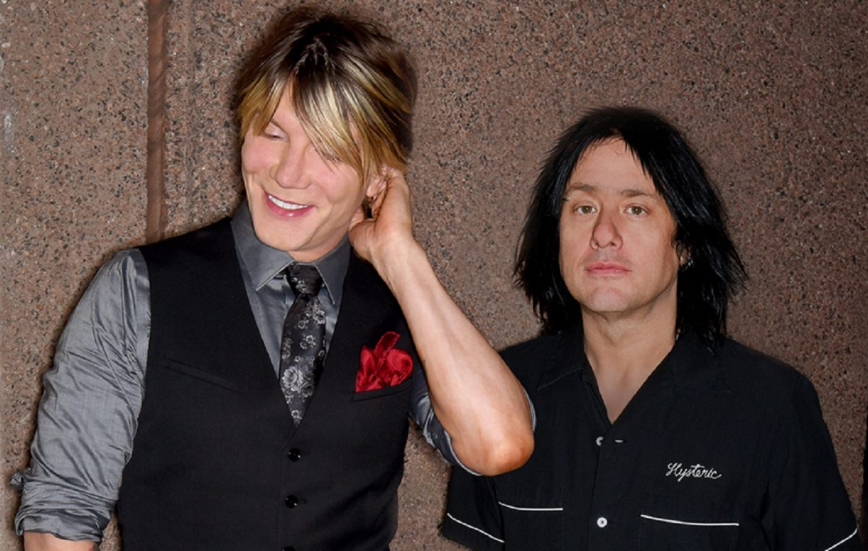 John Rzeznik and Robby Takac of the Goo Goo Dolls.