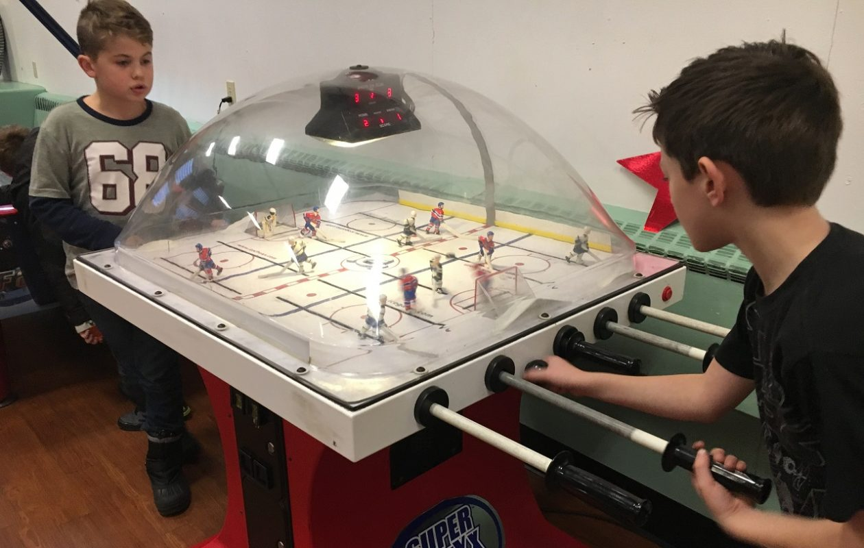 The Village of Hamburg Youth Center, at 200 Prospect Ave., has three floors of kid-friendly activities and games, including Chexx Bubble Hockey.