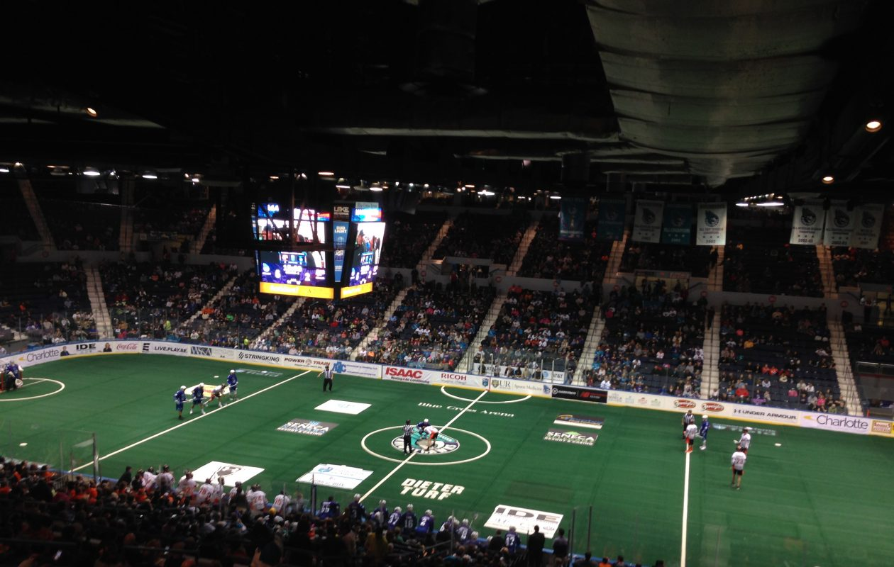 The Bandits faced the Knighthawks at Blue Cross Arena. (Jack Goods/Buffalo News)