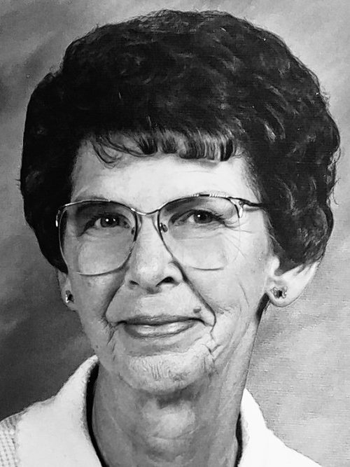 BRUNING, Gladys M.