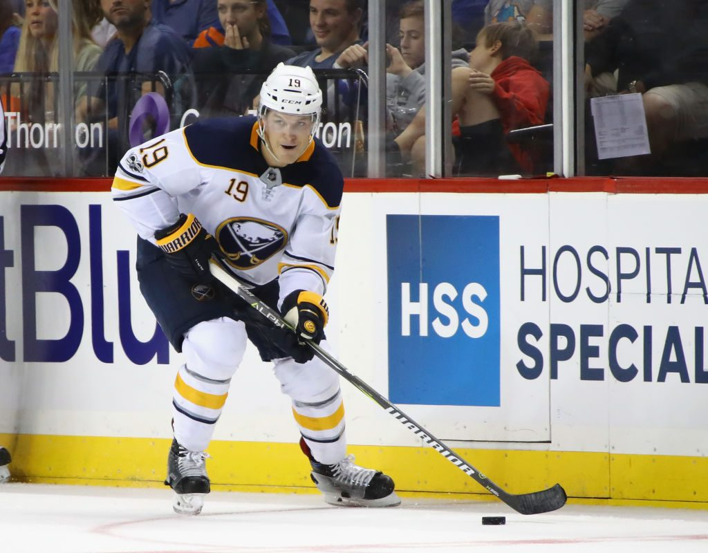 Sabres defenseman Jake McCabe captained Team USA to the gold medal at the 2013 World Junior Championship (Getty Images).