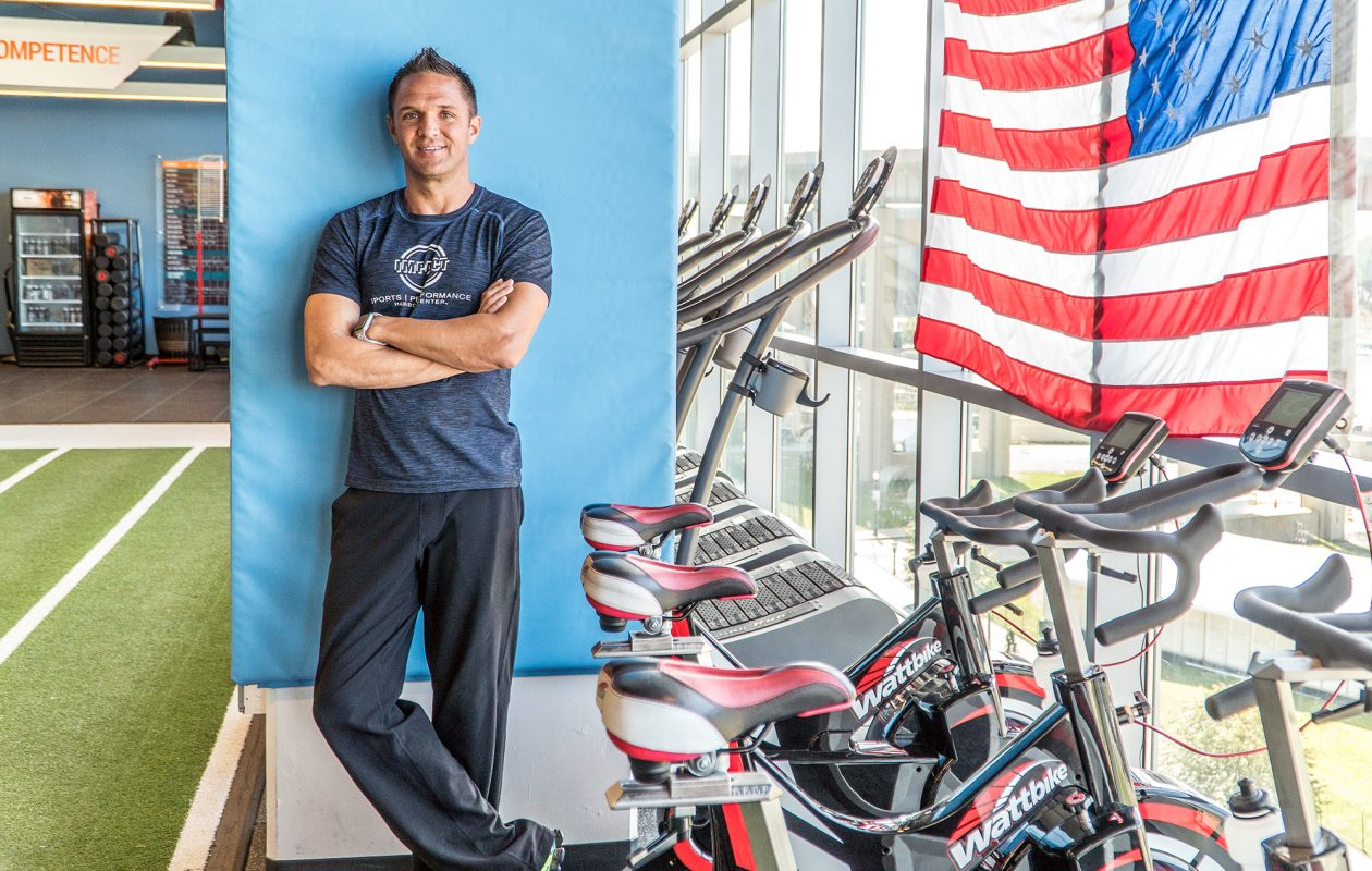 Jason Jerome heads Impact Sports, a smaller gym downtown where training is customized for each client. (Alicia Wittman)