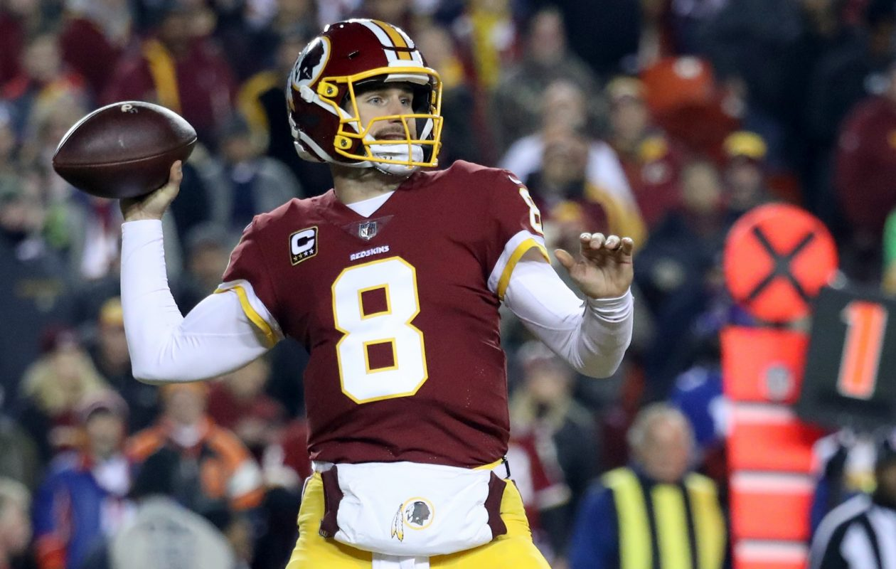 Kirk Cousins will be a free agent after the season unless the Redskins make him a franchise player for an unprecedented third straight year, giving him the mandated one-year salary of $34 million.(Getty Images)