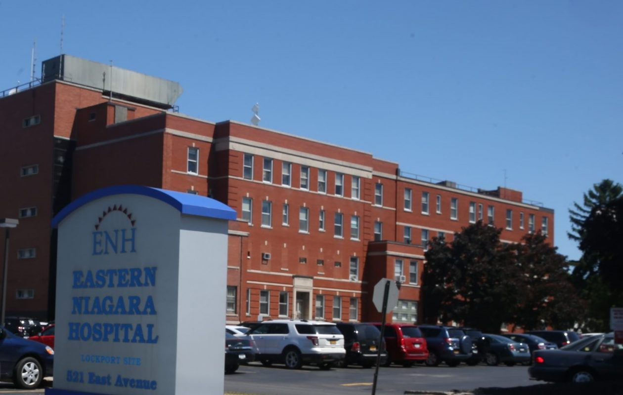 Eastern Niagara Hospital. in Lockport (News file photo)