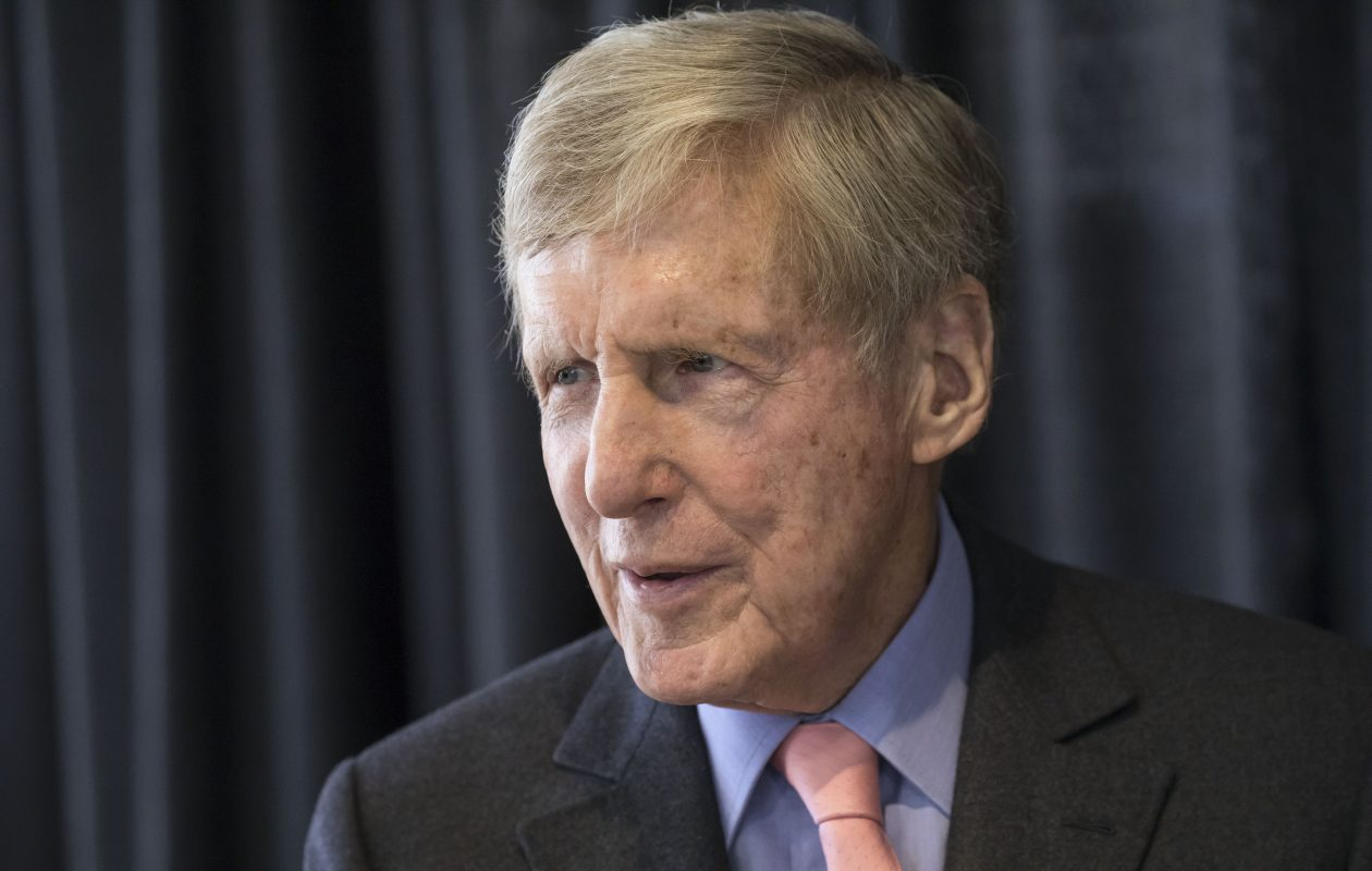 M&T chairman and CEO Robert Wilmers has died. (Derek Gee/Buffalo News)