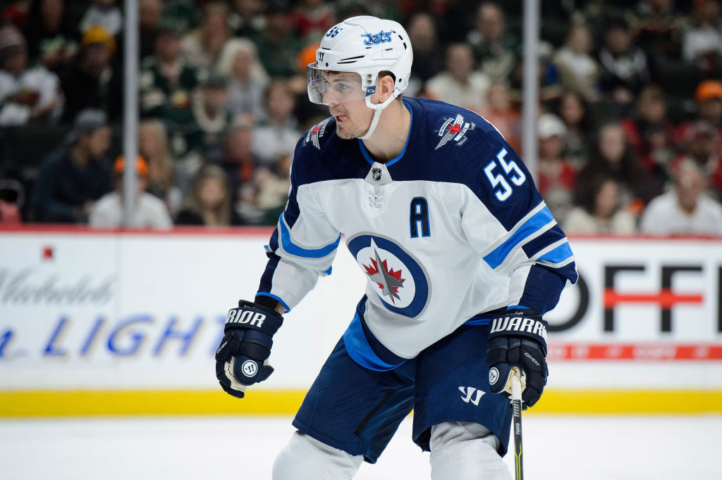 Best player in the NHL nobody knows? Winnipeg's Mark Scheifele has seven points in his last three games — and 32 points in 26 games this season (Getty Images).