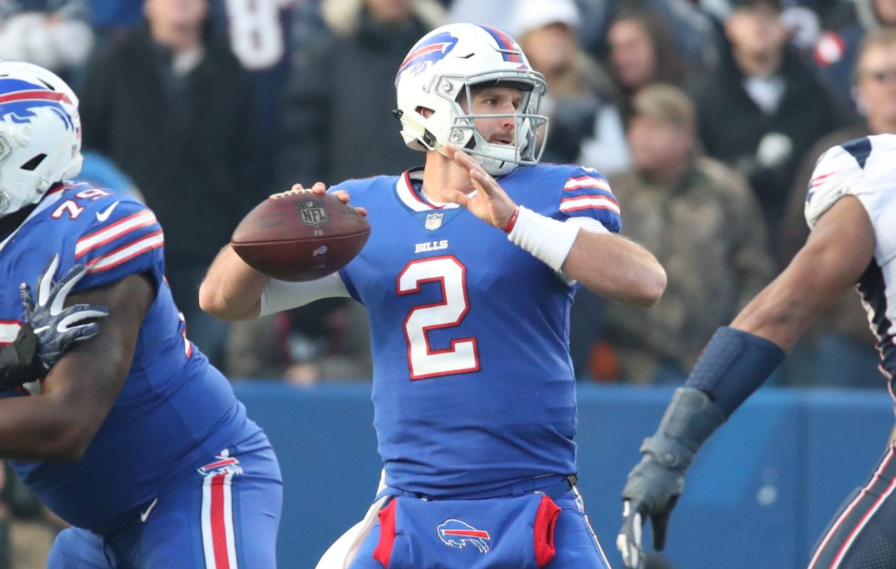 Bills quarterback Nathan Peterman. (James P. McCoy/News file photo)