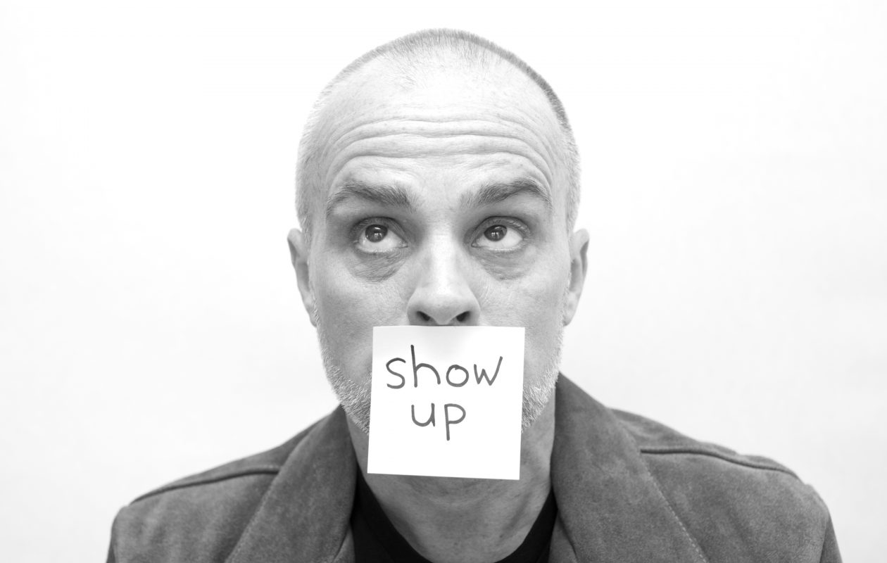 Peter Michael Marino will perform his one-man improvisational show 'Show Up' on Dec. 7 in Nietzsche's.