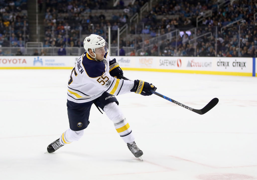 Rasmus Ristolainen played a season-high 30:42 Tuesday at Colorado (Getty Images)