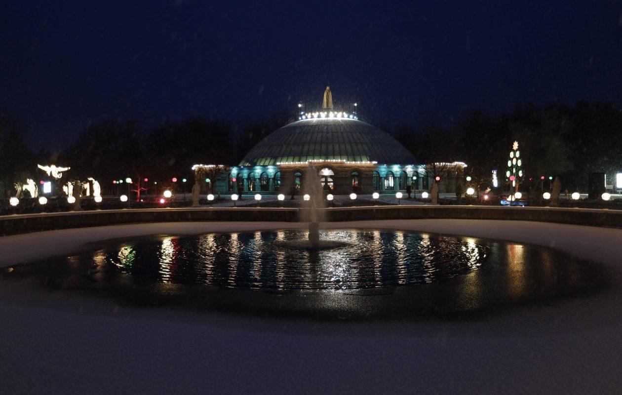 National Shrine Basilica of Our Lady of Fatima. (Mark Mulville/Buffalo News)