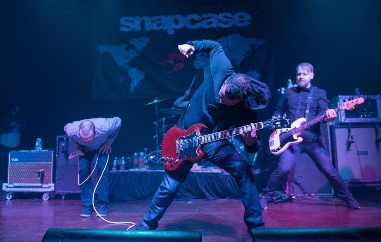 Internationally known hardcore band Snapcase has announced its next gig for January. (Matt Weinberg/Special to The News)