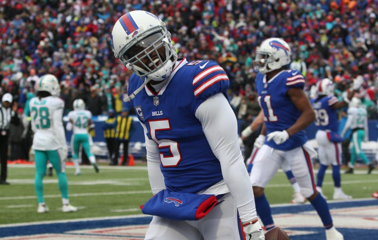 Bills quarterback Tyrod Taylor (James P. McCoy/Buffalo News)