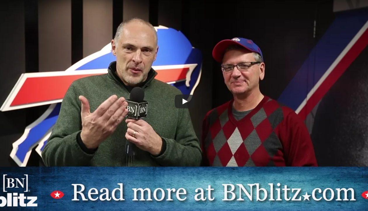 Buffalo News reporters Vic Carucci and Jerry Sullivan talk about the Bills. (Mark Mulville/Buffalo News).