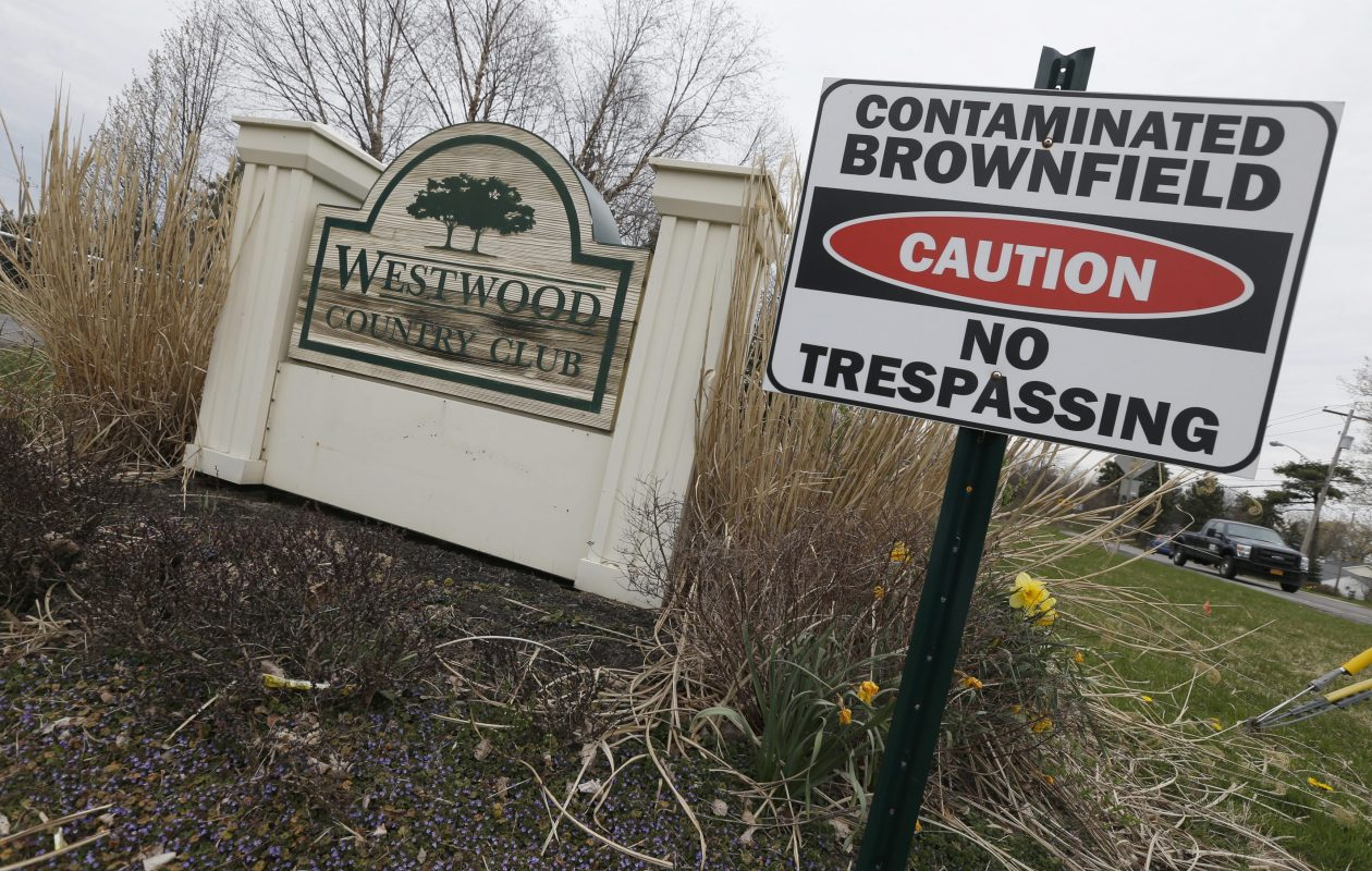 The former Westwood Country Club would be transformed into housing for 1,700 people, retail and commercial space and parkland.  (Robert Kirkham/Buffalo News file photo)
