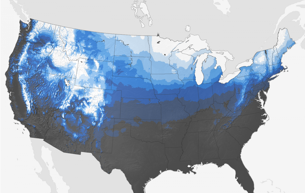 More than 6 out of 10 Christmases in Buffalo are white. (National Weather Service)