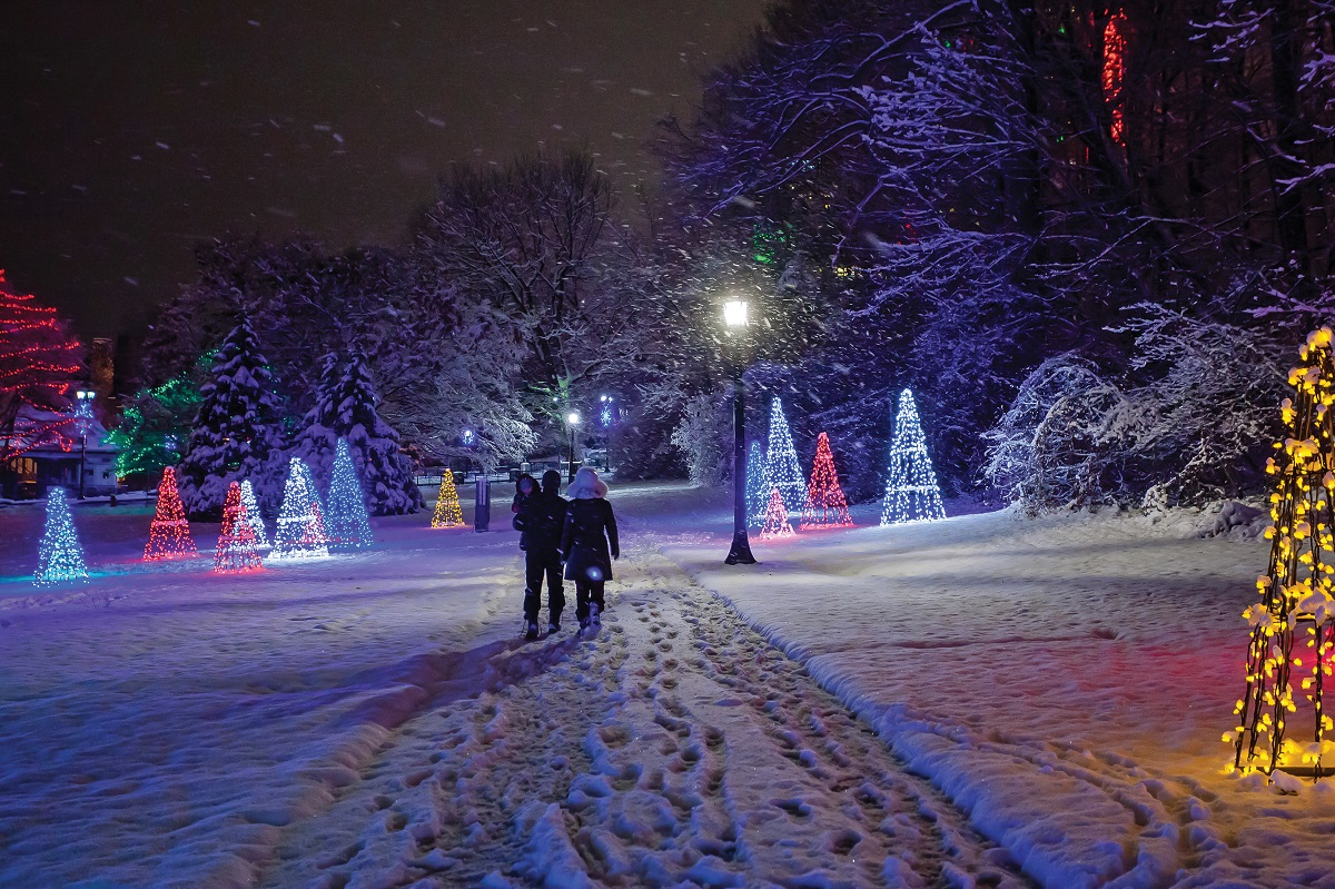"""""""Niagara Parks' Aura: Let it Glow"""" will feature several illumination-themed events for visitors to Niagara Falls, Ont. that involve millions of lights throughout Niagara Parks. (Photos by Niagara Parks/Special to The News)"""