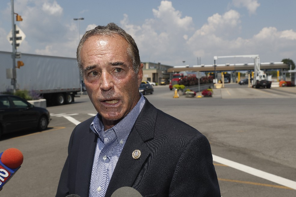 2018 will be the year Republicans stop trying to dismantle the federal government as Rep. Chris Collins schools them on how to make government work for them and their friends, News columnist Rod Watson writes.  (John Hickey/Buffalo News file photo)