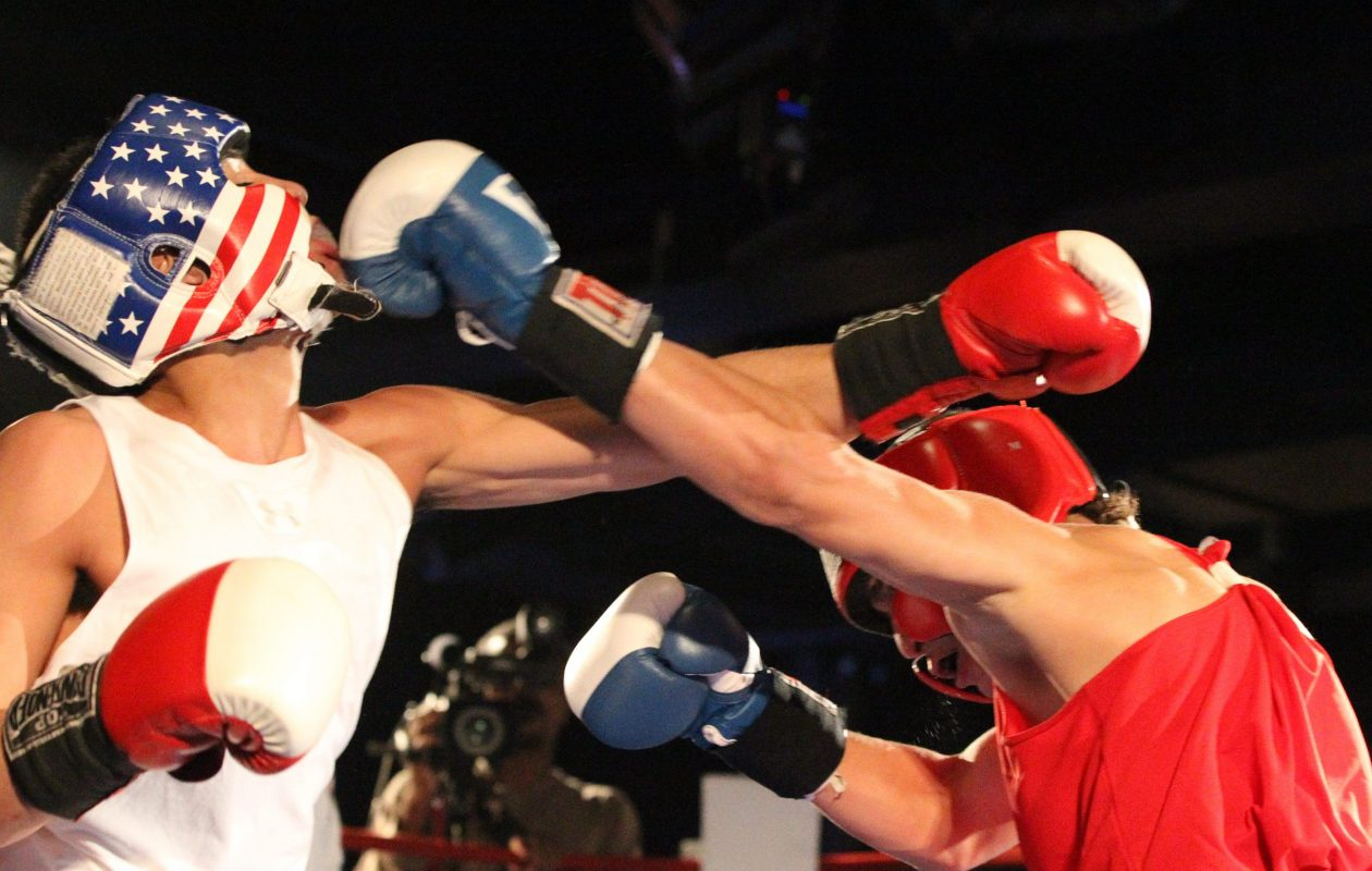 The New York State Golden Gloves Tournament features amateur boxers vying for titles in sub-novice, novice and open divisions. Only open division champions, though, advance to the national tournament in May. (James P. McCoy/Buffalo News file photo)