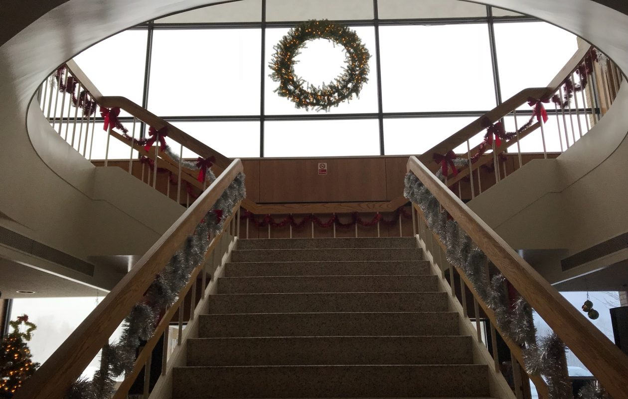 Grand Island residents who can't use the stairs at Town Hall will have a new elevator in 2018.