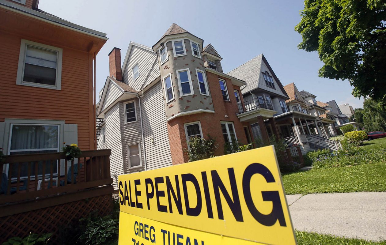 The neighborhood around Elmwood Avenue was one of the neighborhoods highlighted by a recent housing report. (Derek Gee/News file photo)