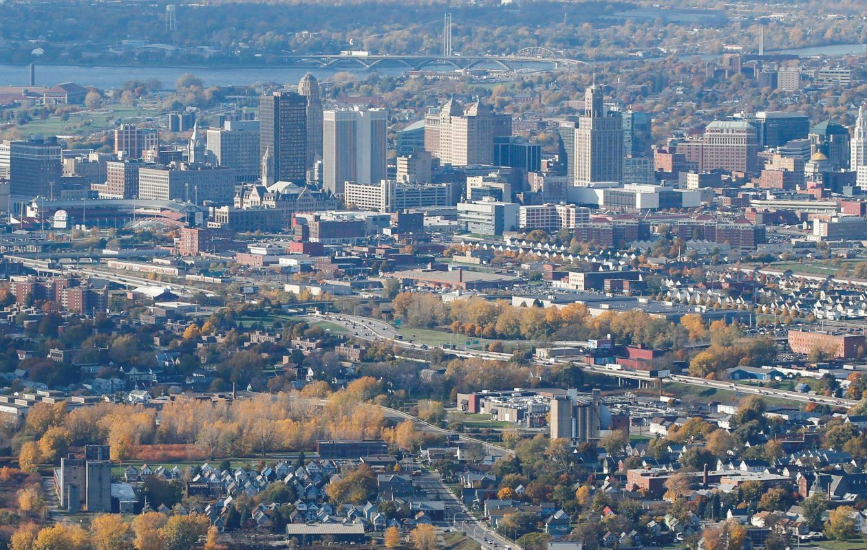 While parts of Buffalo are enjoying a resurgence in housing values, thousands of homes in less-fortunate neighborhoods are deteriorating and worth less than $30,000. (Derek Gee/Buffalo News file photo)